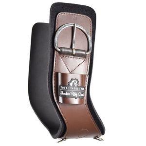 Total Saddle Fit Shoulder Relief Cinch - Leather/Neoprene - Brown