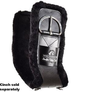 Total Saddle Fit Shoulder Relief Cinch Cover - Black Fleece