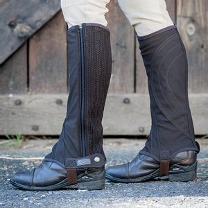 Dublin Easy Care Half Chaps - Brown