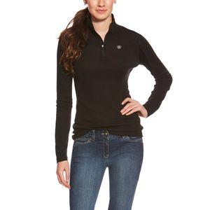 Ariat Women's Cadence Wool 1/4 Zip - Black