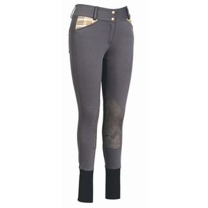 Equine Couture Women's Baker Elite Classic Breech - Charcoal