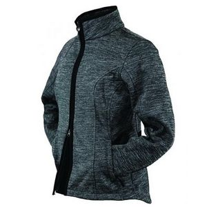 Outback Trading Women's Heather Softshell Jacket - Steel