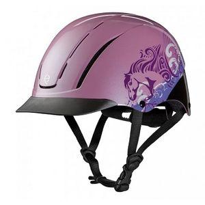Troxel Spirit Helmet - Pink Dreamscape