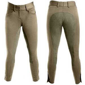 Grand Prix Women's Lexington Full Seat Breech-Beige