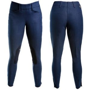 Grand Prix Women's Hampton II Low Rise Classic Breech-Navy Blue