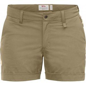 Fjallraven Women's Abisko Stretch Shorts - Sand