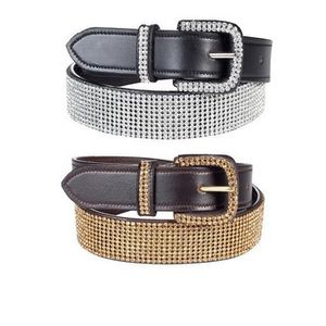 Horze Women's Crescendo Wide Crystal Belt