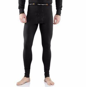 Carhartt  Men's Super Cold Weather Bottoms - Black