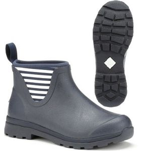 Muck Boots Women's Cambridge Ankle Boots - Navy/White Stripe
