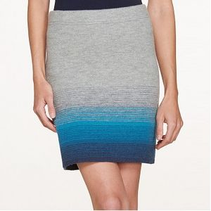 Toad & Co Women's Heartfelt Sweater Skirt - Light Heather Grey