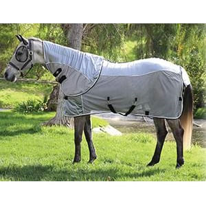 Professional's Choice Comfort Fit Fly Sheet - Charcoal