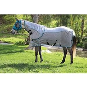 Professional's Choice Comfort Fit Fly Sheet - Pacific Blue