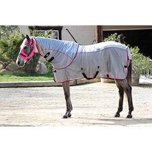 Professional's Choice Comfort Fit Fly Sheet - Pink