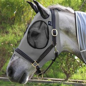 Professional's Choice Comfort Fit Fly Mask - Charcoal