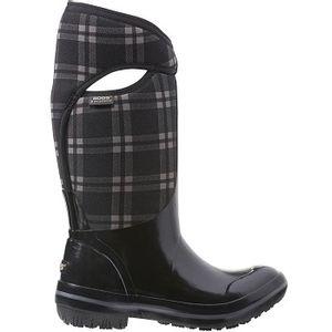 Bogs Women's Plimsoll Plaid Tall Boots - Black