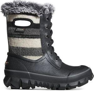 Bogs Women's Arcata Stripe Winter Boots - Black Multi