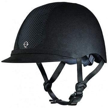 Troxel-ES-Low-Profile-Riding-Helmet---Black-on-Black-50402
