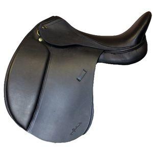New Santa Cruz Geneve Dressage Saddle - Black