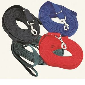 Cotton Web Lunge Line with Snap