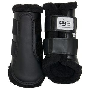 DSB Dressage Sport Boots - Matte - Black/Black