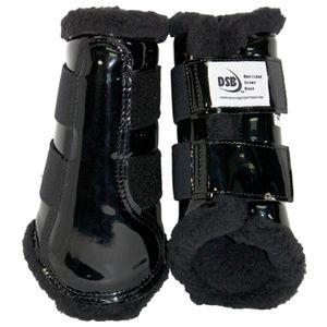 DSB Dressage Sport Boots - Patent - Black/Black