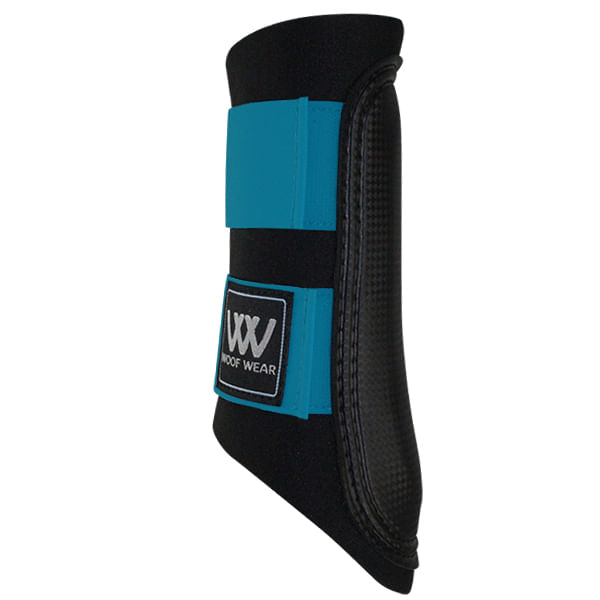 Woof-Wear-Club-Sport-Brush-Boots---Black-Turquoise-196107