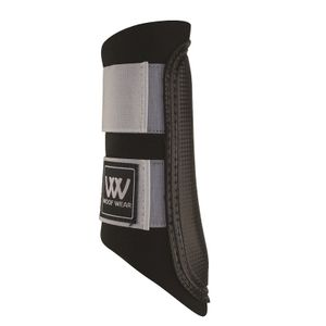 Woof Wear Club Sport Brush Boots - Black/Brushed Steel