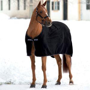 Mio Fleece Cooler with Removable Surcingle - Black/Black/White