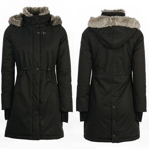 AA Women's Lugano Long Coat - Black