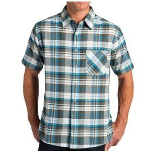 Kuhl Men's Tropik Short Sleeve Shirt - Shadow Blue