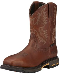 Ariat Men's WorkHog CSA H20 Composite Toe - Dark Copper Work Boots