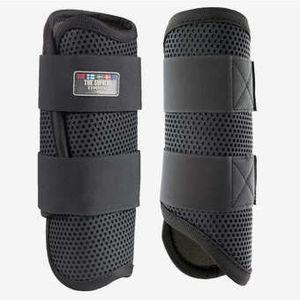 Horze Impact Flexi Strike Guard Front Boots - Black