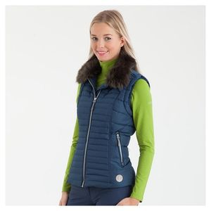 Anky Women's Quilted Vest- Bluebird