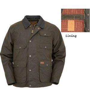 Outback Trading Men's Overlander Jacket - Bronze