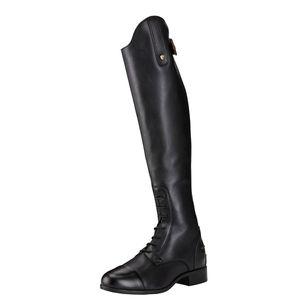 Ariat Women's Heritage Contour II Zip Field Boot - Black