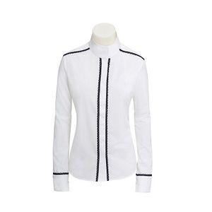 RJ Classics Women's Plymouth Lace Show Shirt - White/Black