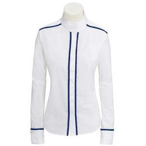 RJ Classics Women's Plymouth Lace Show Shirt - White/Navy
