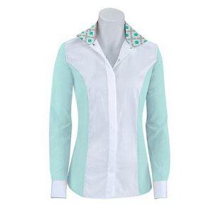 RJ Classics Women's Windsor Panel Show Shirt - Mist/White