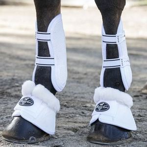 Professional's Choice Spartan Bell Boots w/Fleece - White