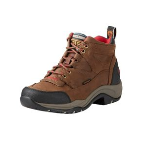 Ariat Women's Terrain H20 Paddock Boot - Distressed Brown