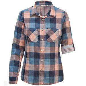 Woolrich Women's Ecorich Conundrum Convertible Long Sleeve Shirt - Bluestone Multi
