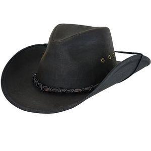 Outback Trading Bootlegger Oilskin Hat - Brown