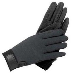 SSG Cotton Gripper Summer Glove - Black
