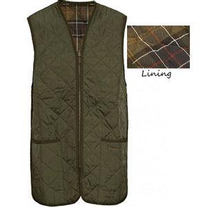 Barbour Men's Quilted Waistcoat Zip-In Liner - Olive/Classic