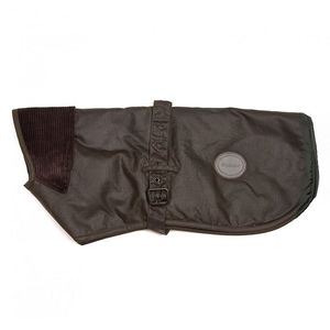 Barbour New Wax Dog Coat - Olive