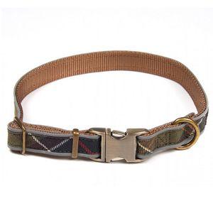 Barbour Reflective Tartan Dog Collar