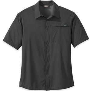 Outdoor Research Men's Astroman Short Sleeve Shirt - Charcoal