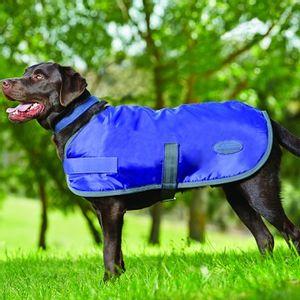 Weatherbeeta Fleece Lined Dog Windbreaker - Violet/Grey