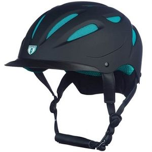 Tipperary Sportage Hybrid Helmet - Black/Teal