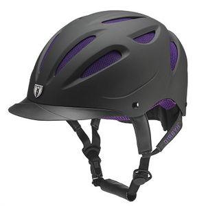 Tipperary Sportage Hybrid Helmet - Black/Purple